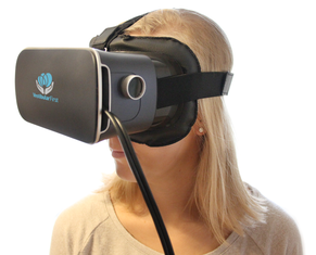Vestibular goggles are used to help treat vertigo.